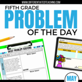Daily Problem Solving for 5th Grade: May Word Problems