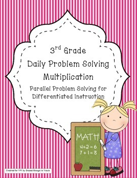 Daily Problem Solving for Multiplication-parallel problems for differentiation