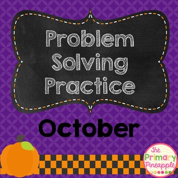 October Problem Solving Practice