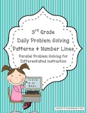 Daily Problem Solving for Patterns and Number Lines