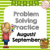 Daily Problem Solving for September