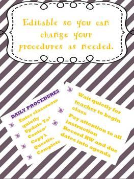 Daily Procedures