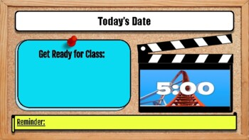 Daily Procedures for the Classroom: Investigation Theme
