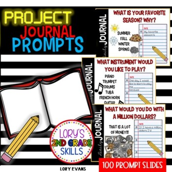 Daily Journal Prompts On the Screen