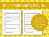 Daily Proofreading Practice - Fourth Grade Journeys Units