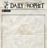Daily Prophet Newspaper Template Harry Potter