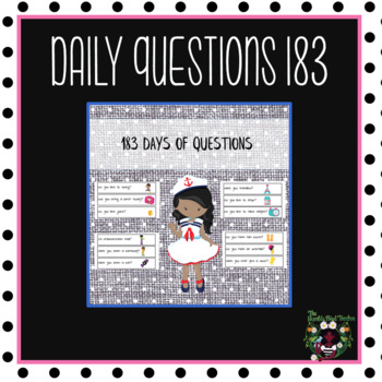 Daily Questions 183 Days
