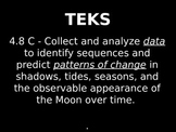 """Daily Quick Checks, """"Lunar Cycle"""" (Science TEKS 4.8C)"""