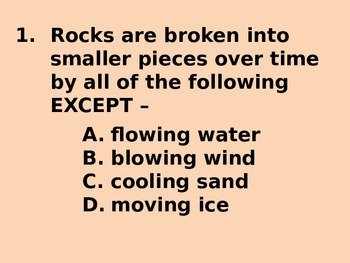 """Daily Quick Checks, """"Properties of Soil"""" (Science TEKS 4.7A)"""