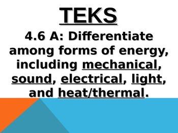 Daily Quick-Checks (Science TEKS 4.6A)