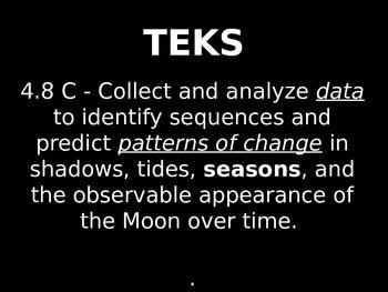 "Daily Quick Checks, ""Seasons"" (Science TEKS 4.8C)"