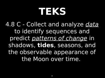 "Daily Quick Checks, ""Tides"" (Science TEKS 4.8C)"