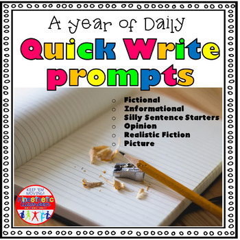 Daily Quick Write Prompts