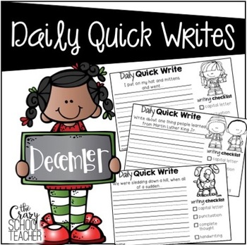 December Daily Quick Writes