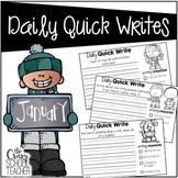 January Daily Quick Writes