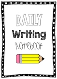 Daily Quick Writes Interactive Notebook