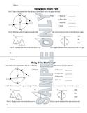Daily Quiz: Circle Parts