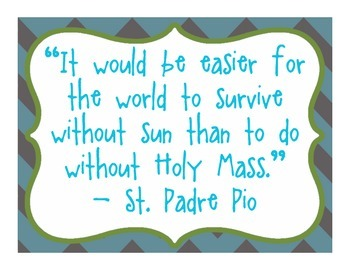Daily Quotes From Catholic Saints - Pewter