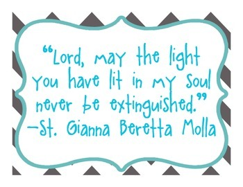 Daily Quotes From Catholic Saints - Gray