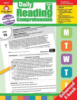 Daily Reading Comprehension, Grade 1