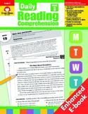 Daily Reading Comprehension, Grade 3 - Teacher's Edition, E-book