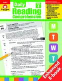 Daily Reading Comprehension, Grade 4 - Teacher's Edition, E-book