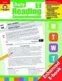 Daily Reading Comprehension, Grade 6 - Teacher's Edition, E-book