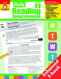 Daily Reading Comprehension, Grade 6 - Teacher's Edition, E-book