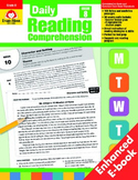 Daily Reading Comprehension, Grade 8 - Teacher's Edition, E-book