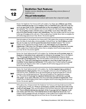 Daily Reading Comprehension, Grade 8, Weeks 11-15