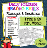 Daily Reading Comprehension Passages Grade 4