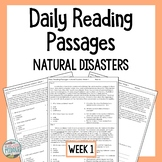 Daily Reading Comprehension Passages & Questions Natural D