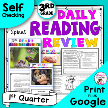 Daily Reading Comprehension Review - First Quarter