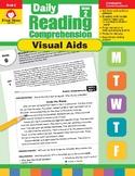 Daily Reading Comprehension Visual Aids, Grade 2