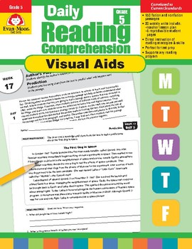 Daily Reading Comprehension Visual Aids, Grade 5