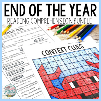 End of the Year Activities Reading Comprehension Bundle