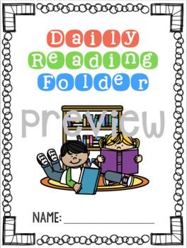 Daily Reading Folder