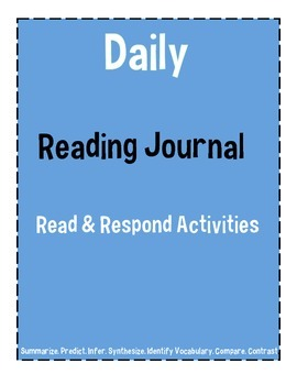 Interactive Daily Reading Journal