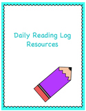 Daily Reading Log