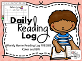 Reading Log - FREEBIE!