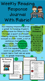Weekly Reading Response Journal - With Rubric