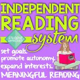 Independent Reading Program {Daily Log}