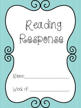 Daily Reading Log with Writing Response