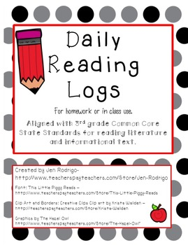 Daily Reading Logs