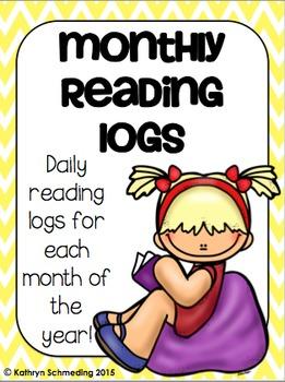 Daily Reading Logs---FREEBIE!!!