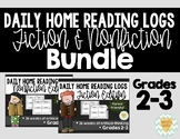 Daily Reading Logs Bundle -Fiction & Non-Fiction {Grades 2-3}