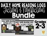 Daily Reading Logs Bundle -Fiction & Non-Fiction {Grades 2-3}