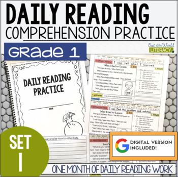 Daily Reading Morning Work: Grade 1 Set 1 by Jen Bengel | TpT