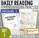 Daily Reading Morning Work: Grade 1 Set 1
