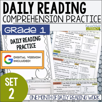Daily Reading Morning Work: Grade 1 Set 2
